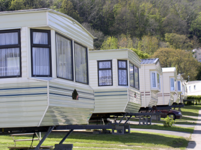 Park owners require caravans insured